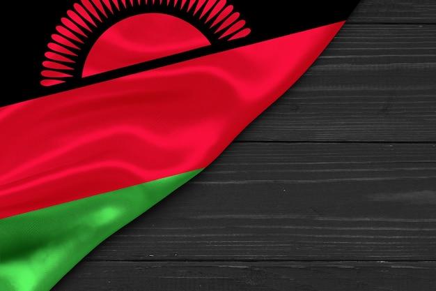 Bandeira do malawi cópia espaço