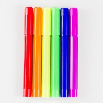 Bandeira do orgulho com caneta colorida