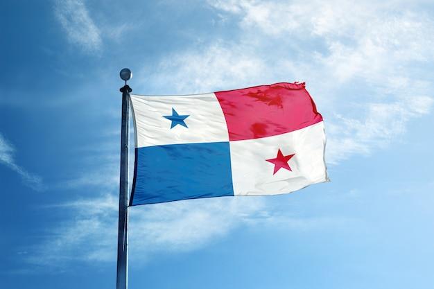 Bandeira do panamá no mastro