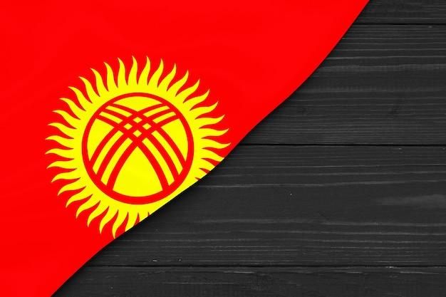 Bandeira do quirguistão copie o espaço