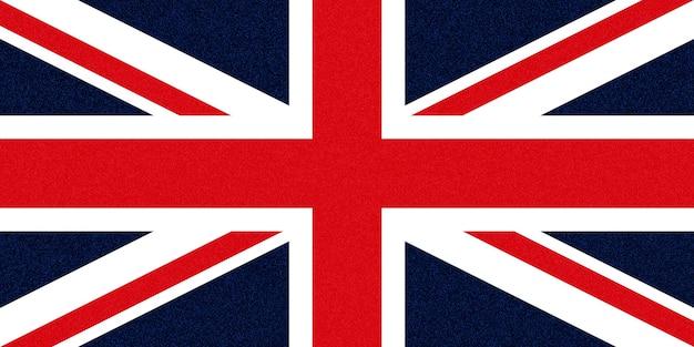 Bandeira do reino unido (reino unido) também conhecida como union jack manchas brilhantes