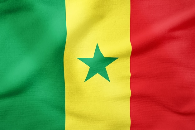 Bandeira do senegal