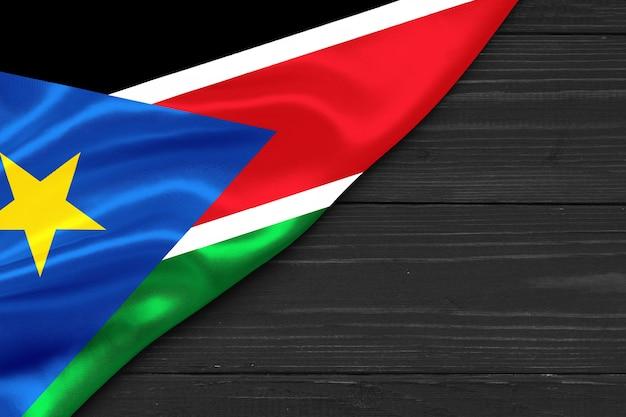 Bandeira do sul do sudão, cópia espaço