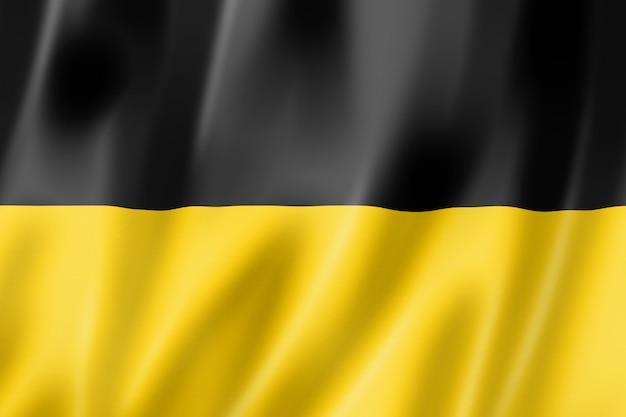Bandeira étnica de kashubian, polônia