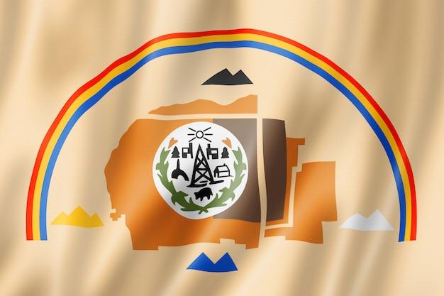 Bandeira étnica de pessoas navajo, eua