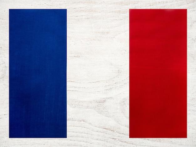 Bandeira francesa. lindo cartão de felicitações. fechar-se