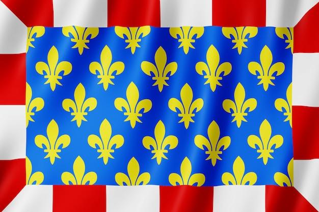 Bandeira, indre-et-loire, frança