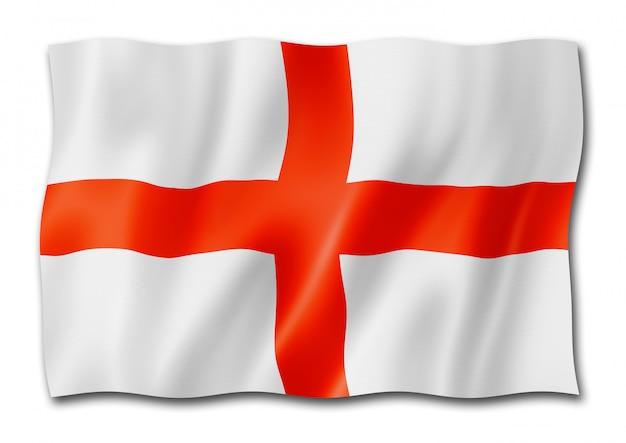 Bandeira inglesa isolada