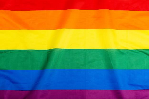 Bandeira lgbt de arco-íris como plano de fundo