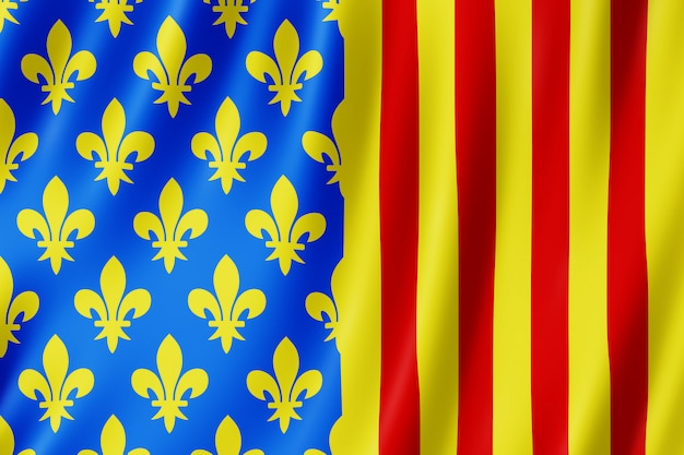 Bandeira, lozere, frança
