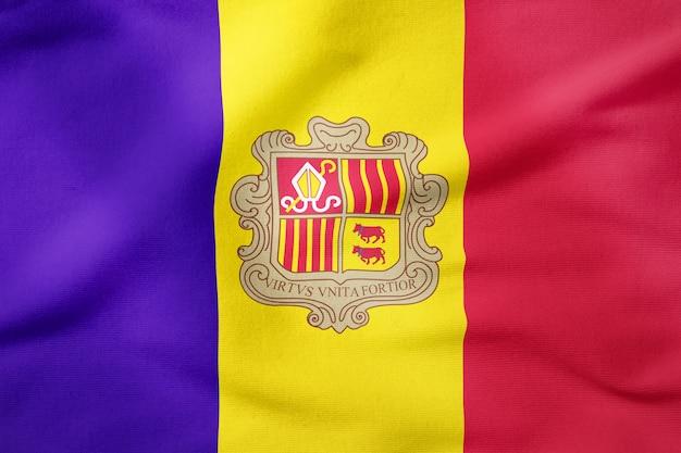 Bandeira nacional da moldávia - símbolo patriótico de forma retangular