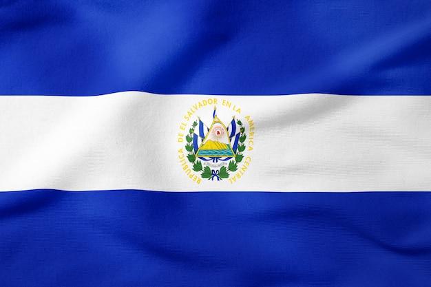 Bandeira nacional, de, el salvador