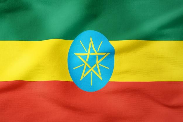 Bandeira nacional, de, etiópia