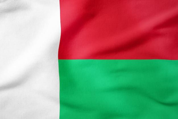 Bandeira nacional, de, madagascar