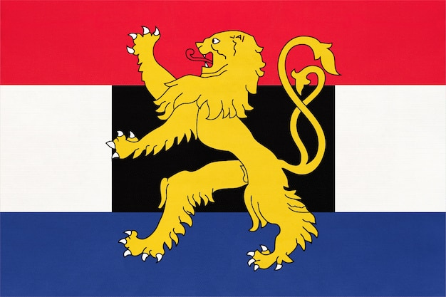 Bandeira nacional do benelux, holanda. país do luxemburgo e bélgica