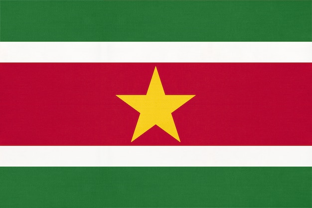 Bandeira nacional do suriname