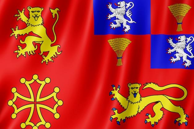Bandeira, tarn-et-garonne, frança