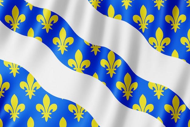 Bandeira, yvelines, frança