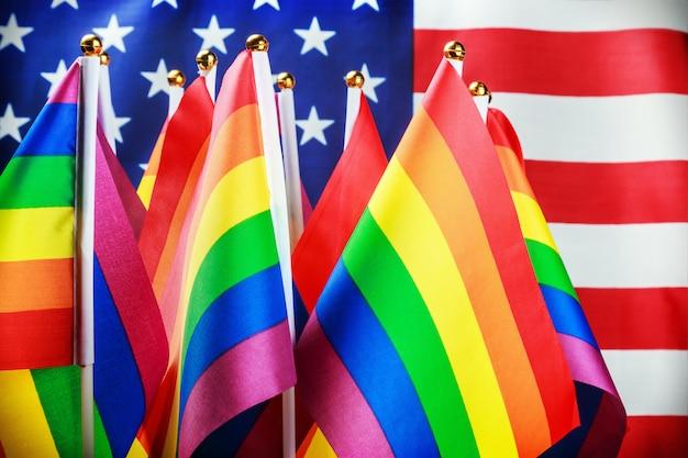 Bandeiras da comunidade lgbt