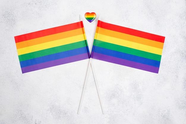 Bandeiras do dia do orgulho