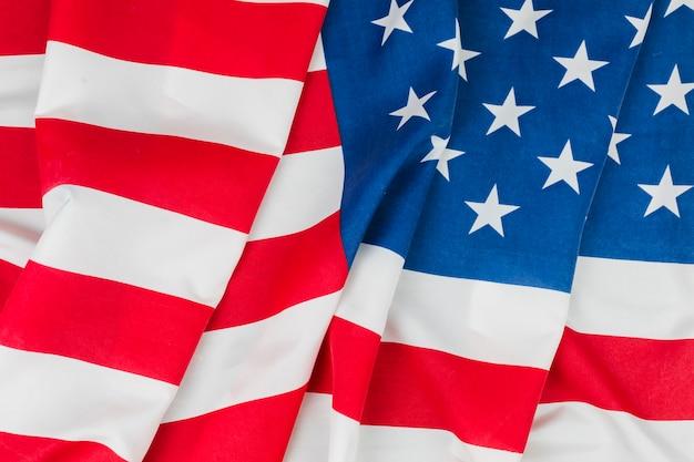 Bandeiras modernas e históricas dos estados unidos