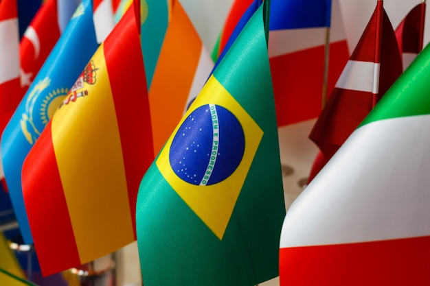 Bandeiras nacionais do mundo