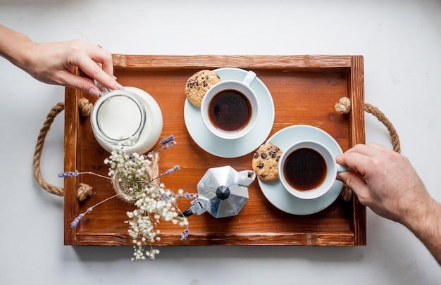 Bandeja de café da manhã
