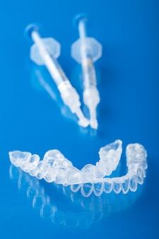Bandeja de dente individual para clareamento