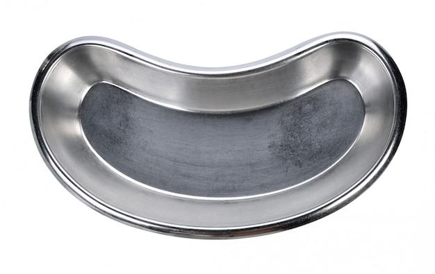 Bandeja oval de aço inox