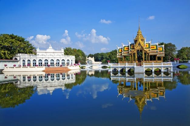 Bang pa-no palácio real, ayutthaya, tailândia