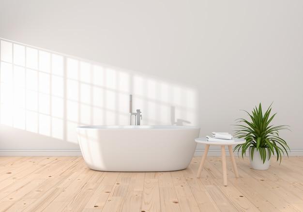 Banheira interna do banheiro