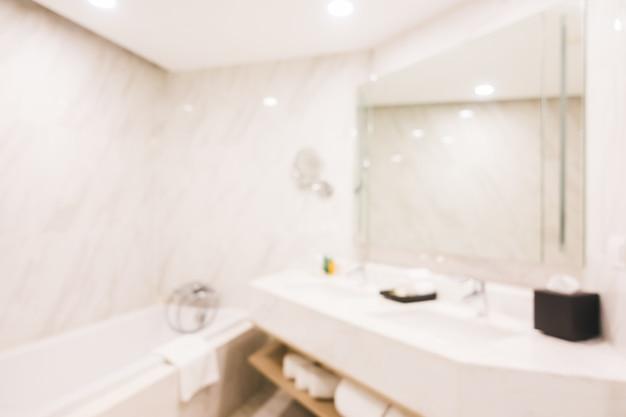 Banheiro abstrato borrão