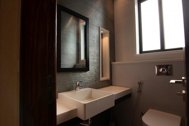 Banheiro de design moderno