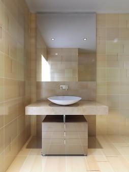 Banheiro de estilo contemporâneo