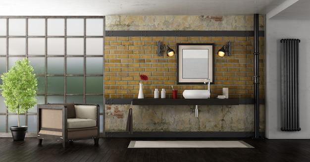 Banheiro em um loft