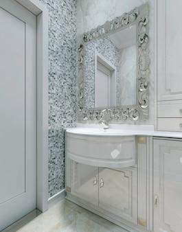 Banheiro estilo barroco
