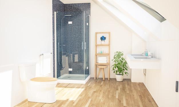 Banheiro no sótão