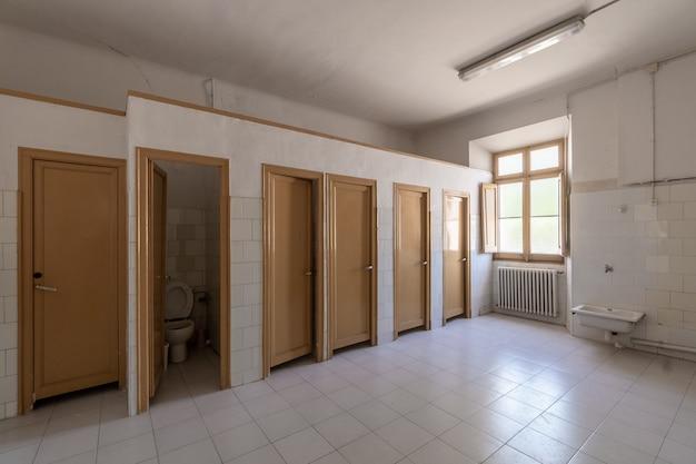 Banheiros comunitários