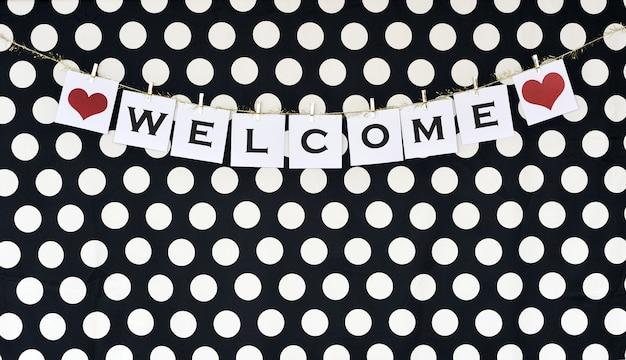 Banner de boas-vindas