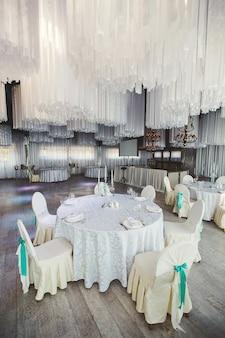 Banquete de casamento no restaurante