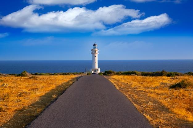 Barbaria cape lighthouse em formentera baleares