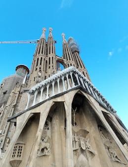Barcelona city spain sagrada familia basílica torres detalhe