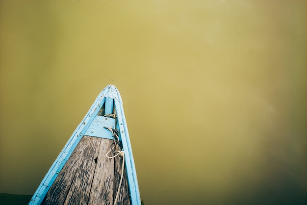 Barco em hoi an, vietnã