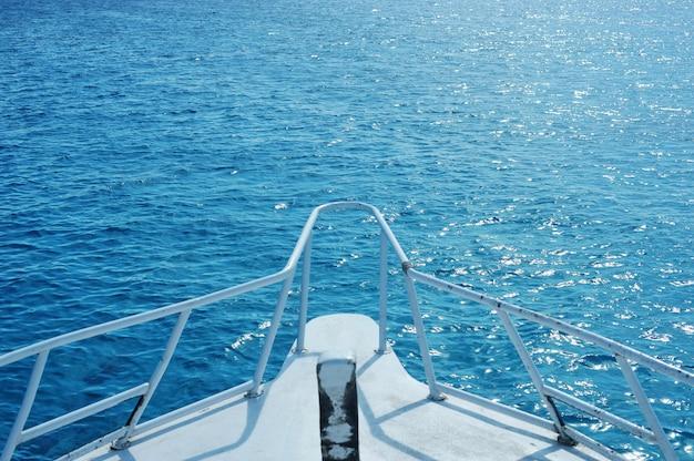 Barco no mar vermelho