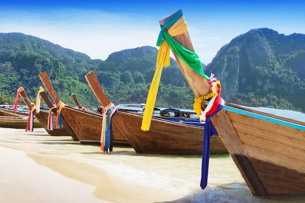 Barcos de cauda longa