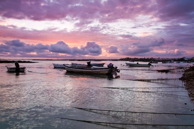 Barcos de pesca tradicionais