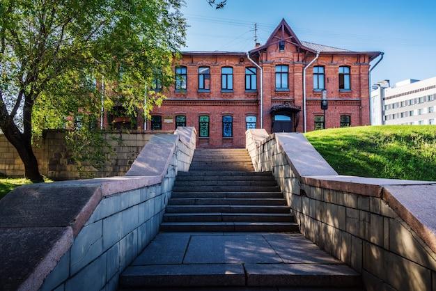 Barnaul rússia museu estadual de lore local de altai departamento histórico militar praça dos veteranos