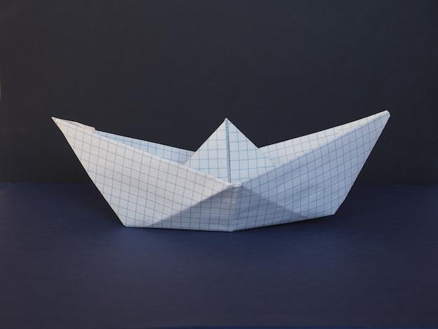 Barquinho de papel