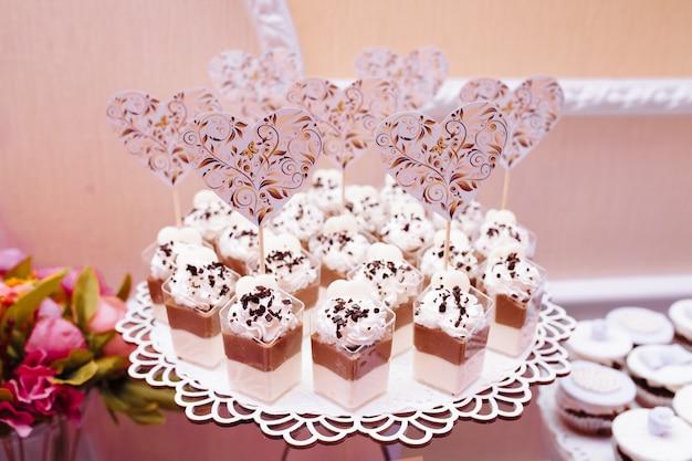 Barra de chocolate de casamento