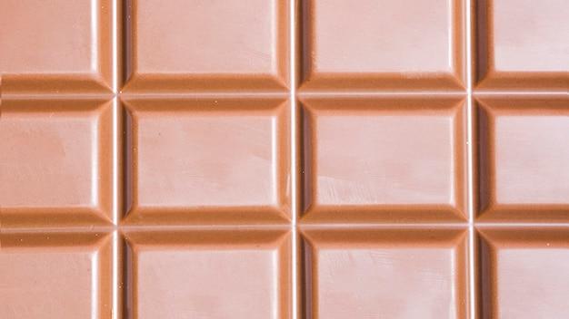 Barra de chocolate escura close-up